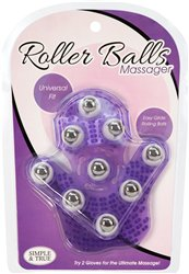 Roller Ball Massage Glove bigger version